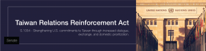 Taiwan Relations Reinforcement Act (S.1054)